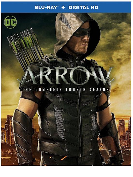 Arrow: The Complete Fourth Season Blu-ray