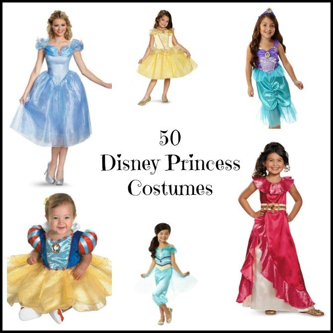 50 Disney Princess Costumes
