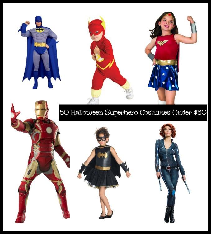 50 Halloween Superhero Costumes Under $50