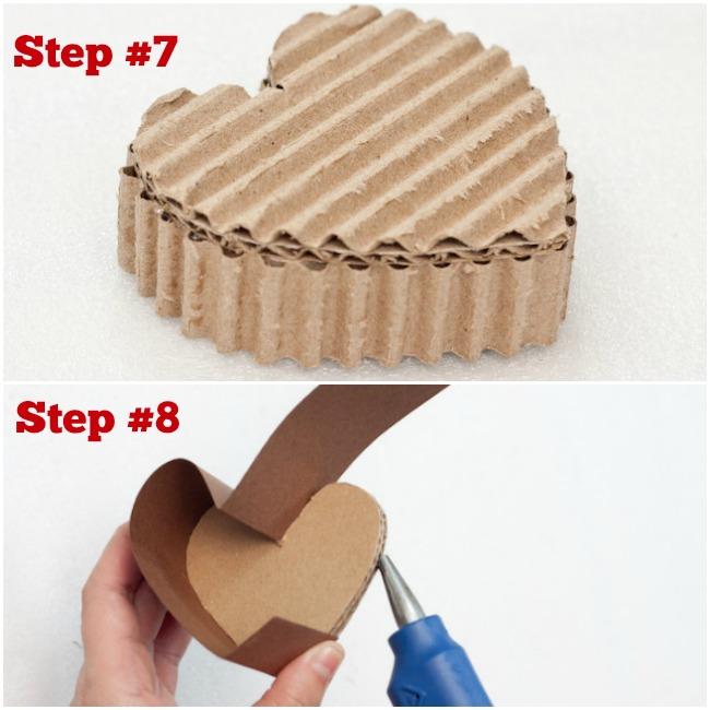 DIY Valentines Heart Box Craft