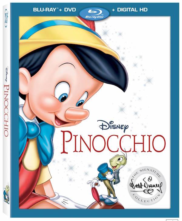 Disney Pinocchio blu-ray