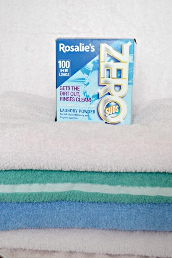 Rosalie's Zero Suds Laundry Powder