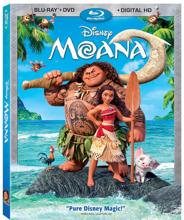 BLU-RAY REVIEW - Disney Moana