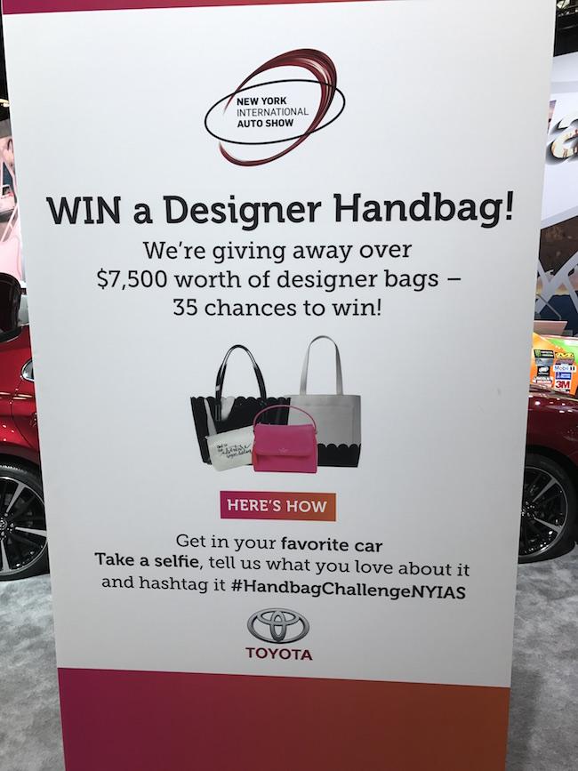 SheBuysCars Handbag Challenge