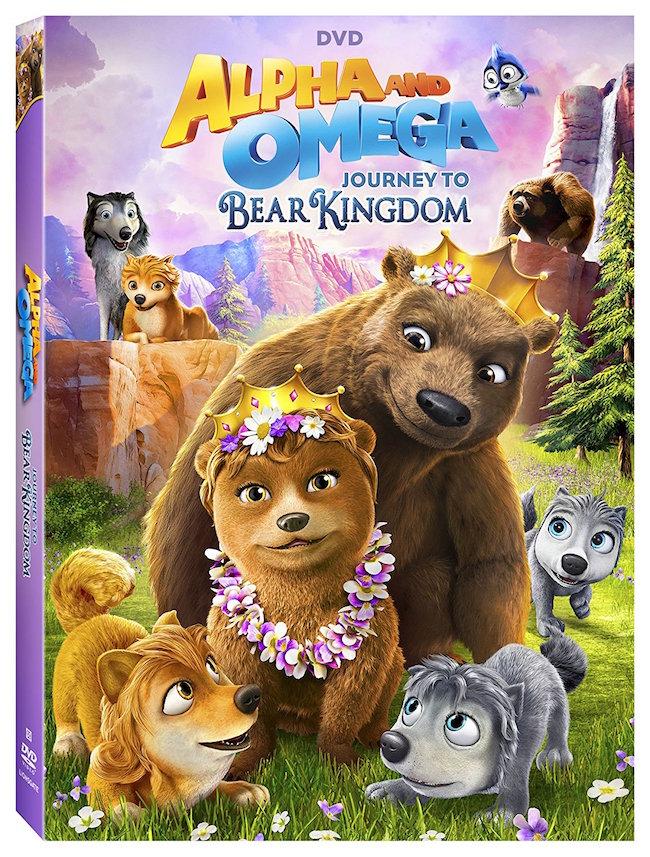Alpha and Omega: Journey To Bear Kingdom DVD