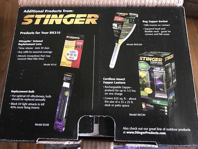Stinger 3-in-1 Insect Zapper