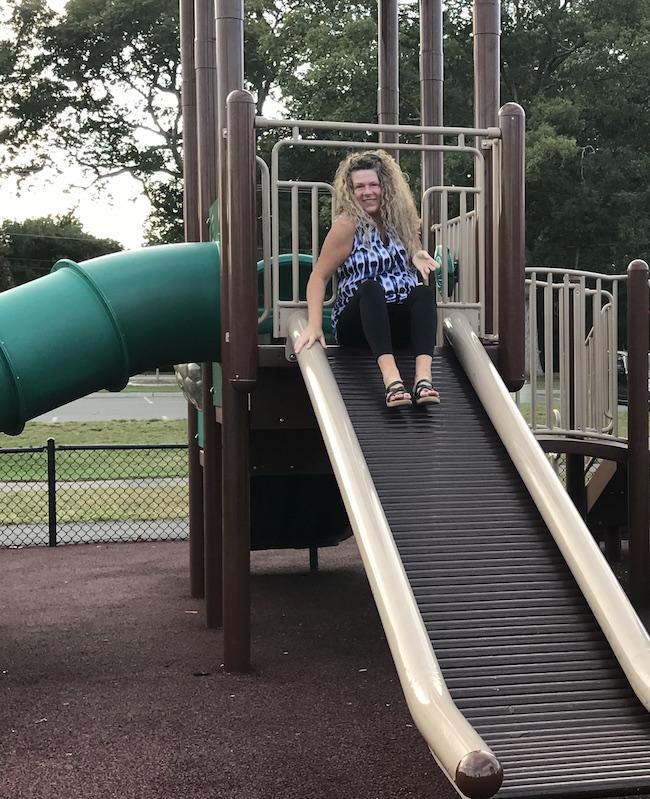 the power of friendship - karen at playground