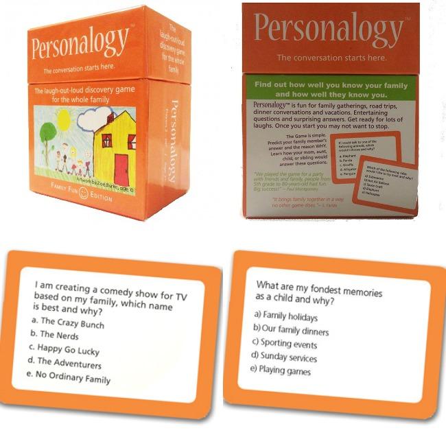 Personalogy Family Fun Edition