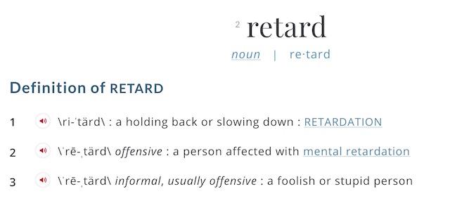 definition r-word