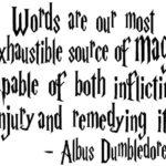 dumbledore words quote