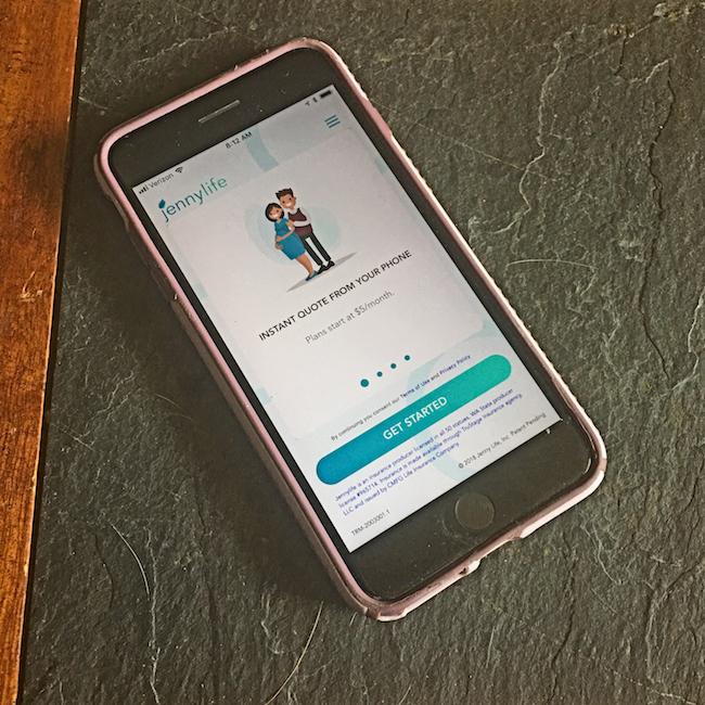 Jenny Life Insurance App