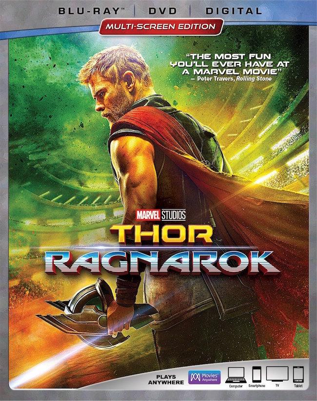 Marvel Studios Thor Ragnarok Blu-ray DVD