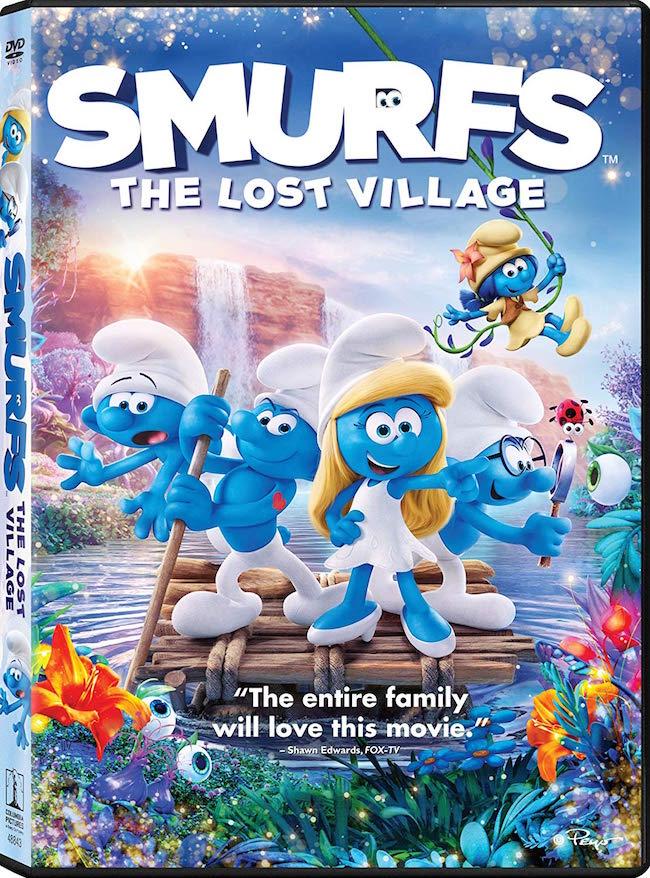 Smurfs: The Lost Village DVD