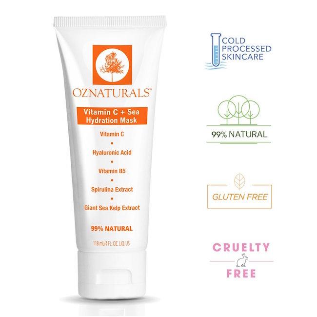 OZ Naturals Vitamin C + Sea Hydration Mask