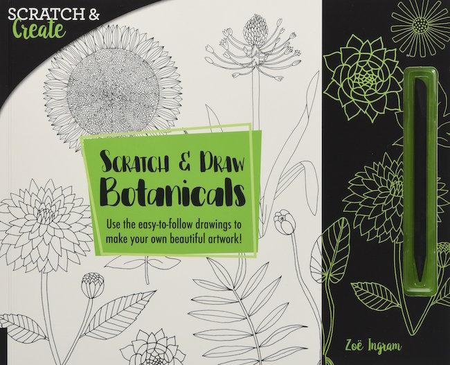 Scratch & Create: Scratch and Draw Botanicals