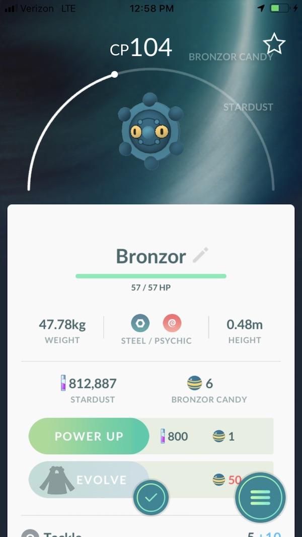 Pokemon GO Bronzor