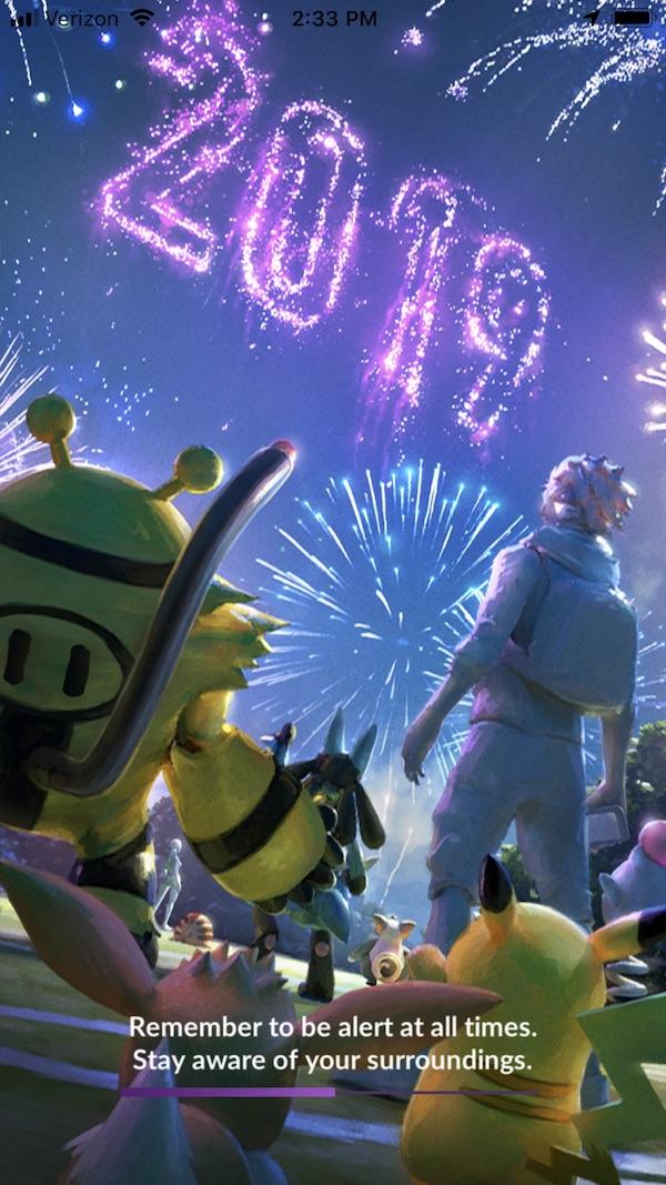 Pokemon GO New Year