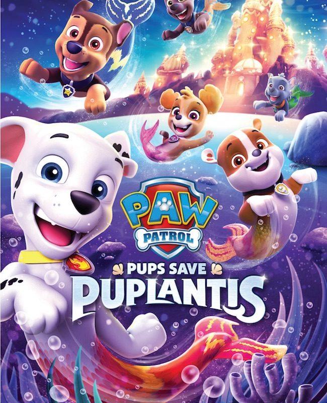 PAW Patrol: Pups Save Puplantis On DVD
