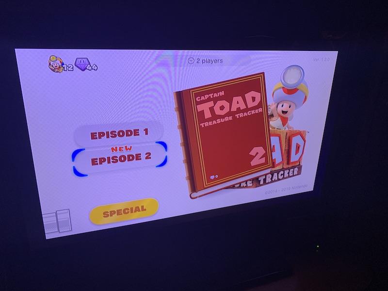 Captain Toad: Treasure Tracker Special Episode DLC
