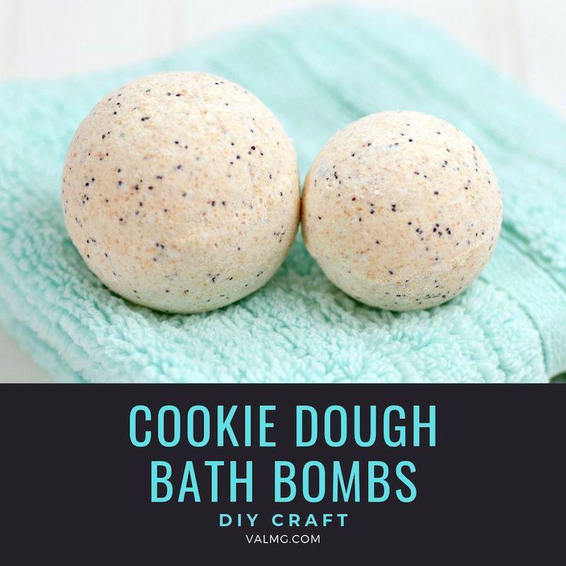 DIY Craft - Cookie Dough Bath Bombs