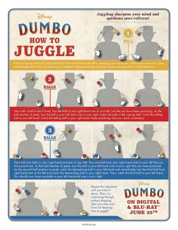 Dumbo How To Juggle